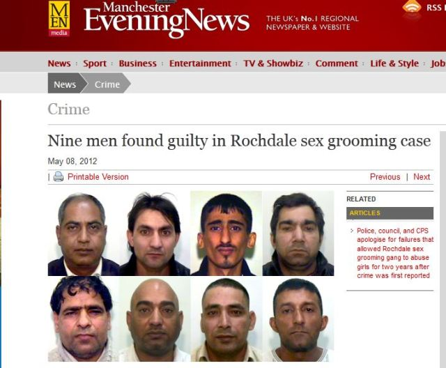 rochdale grooming ring nine convicted over child charges